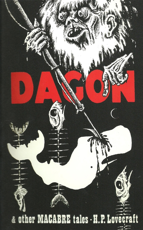 Dagon, Arkham House 1965, art by Lee Brown Coye