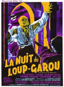 Curse of the Werewolf, French Poster