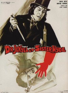 Dr. Jekyll and Sister Hyde, French Poster