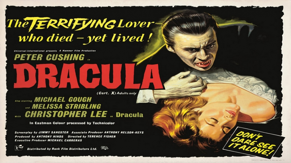 The Horror of Dracula, British Quad Poster