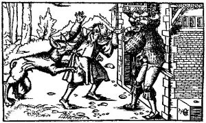 Werewolf, from a 16th century woodcut