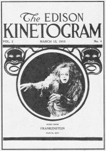 Frankenstein, promoted in The Edison Kinetogram