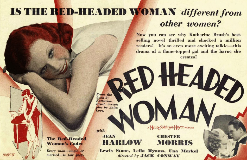 Poster for Red -Headed Woman