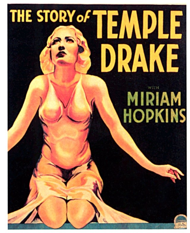 Poster for The Story of Temple Drake