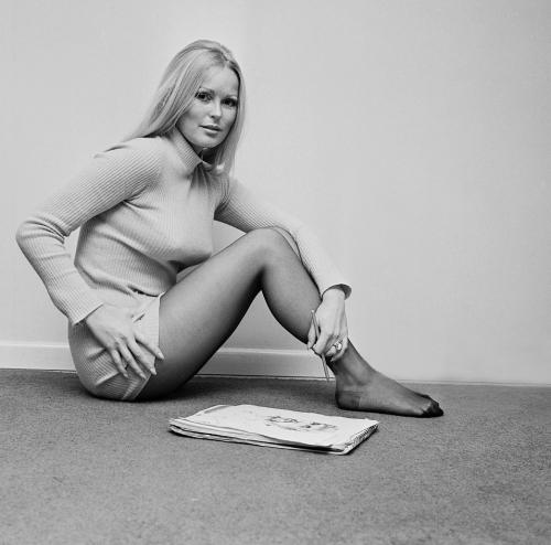 Veronica Carlson, February 25, 1971