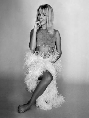 Yutte Stensgaard, December 1969