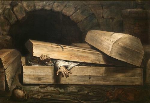 Antoine Wiertz 'L'Inhumation Precipitee' (1854)