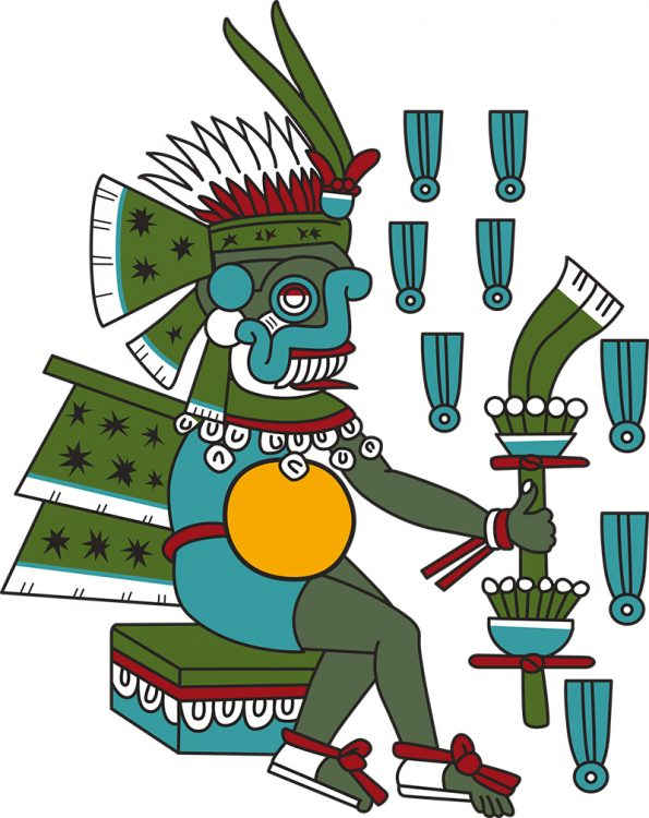 Tlaloc, Aztec Rain God