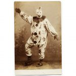An early twentieth century creepy clown