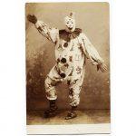 An early twentieth century creepy clown