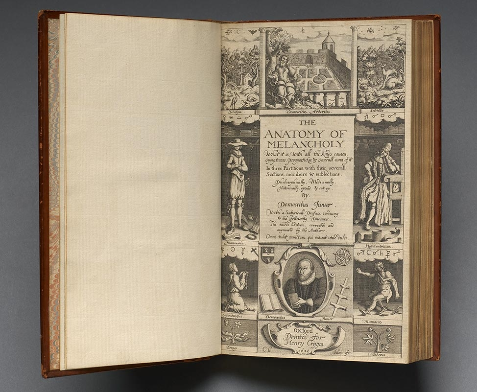 Anatomy of Melancholy (1628), reprint