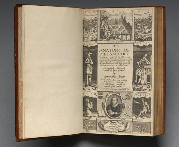 Anatomy of Melancholy (1628), reprint