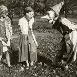 Homemade Halloween costumes, circa 1929