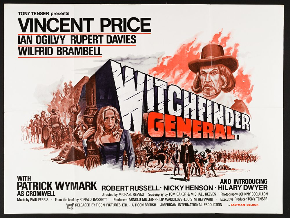 Witchfinder General, UK quad poster