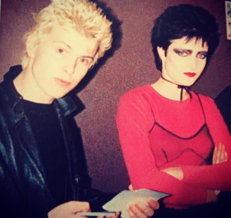Billy Idol and Siouxsie Sioux