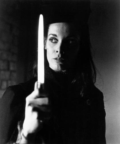 Martine Beswick as Sister Hyde