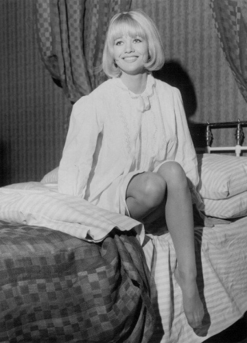 Judy Geeson starred in 1967's Berserk and Hammer's Fear in the Night (1971)