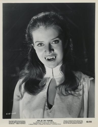 Isobel Black in Kiss of the Vampire (1963)