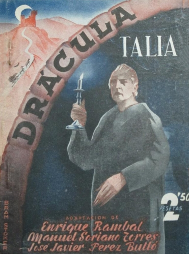 Poster for Enrique Rambal's Dracula