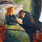 "Edward Munch's ""The Sick Child"""