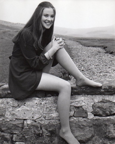 Lynne Frederick appeared in 1971's VAMPIRE CIRCUS. Photo here from NO BLADE OF GRASS (1970)