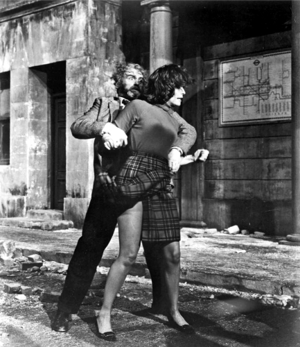 Andrew Kier and Barbara Shelley in Quatermass and The Pit (1967)