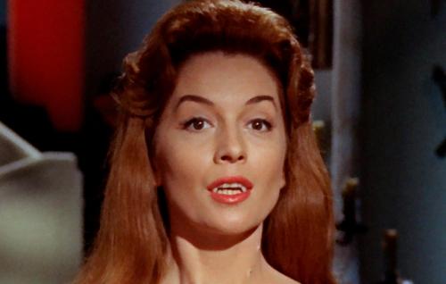 Barbara Shelley in DRACULA, PRINCE OF DARKNESS (1966)
