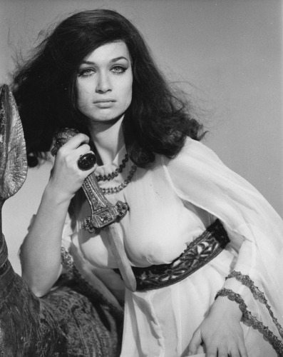Valerie Leon promotional still from Blood from The Mummy's Tomb (1971)