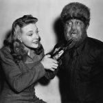 Evelyn Ankers gives Lon Chaney Jr. a long overdue trim