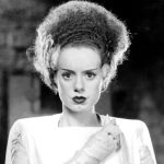 Elsa Lanchester as The Bride of Franstein (1935)